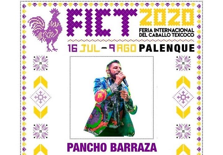 Pancho Barraza en el Palenque Texcoco 2020