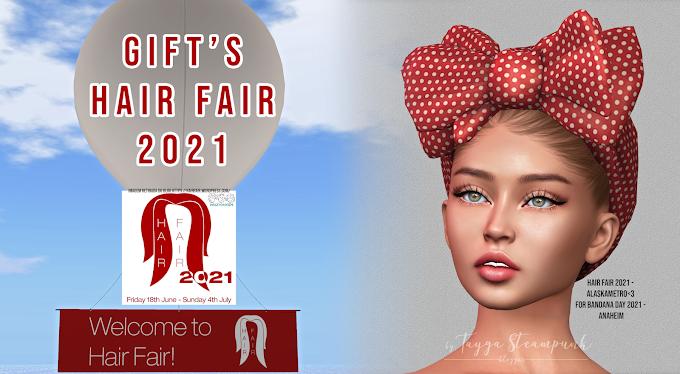 TS #674 Gift's Hair Fair 2021