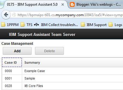 Viki's weblogs: Troubleshooting IBM BPM Logs using Support Assistant
