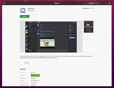GNOME Software flatpak flathub Ubuntu 20.04