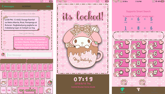 Oppo Theme: Oppo Melody Sweet Theme