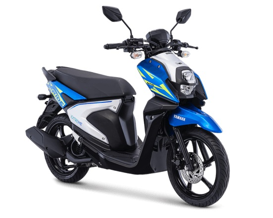 All New Yamaha X-Ride 125 Dynamic Blue