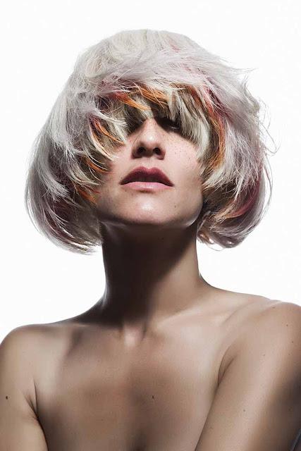 color de pelo rojizo claro
