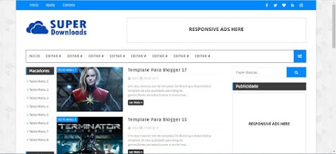 Super Download Blogger Template