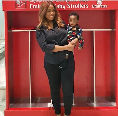 Linda Ikeji celebrates son, Jayce as he clocks one