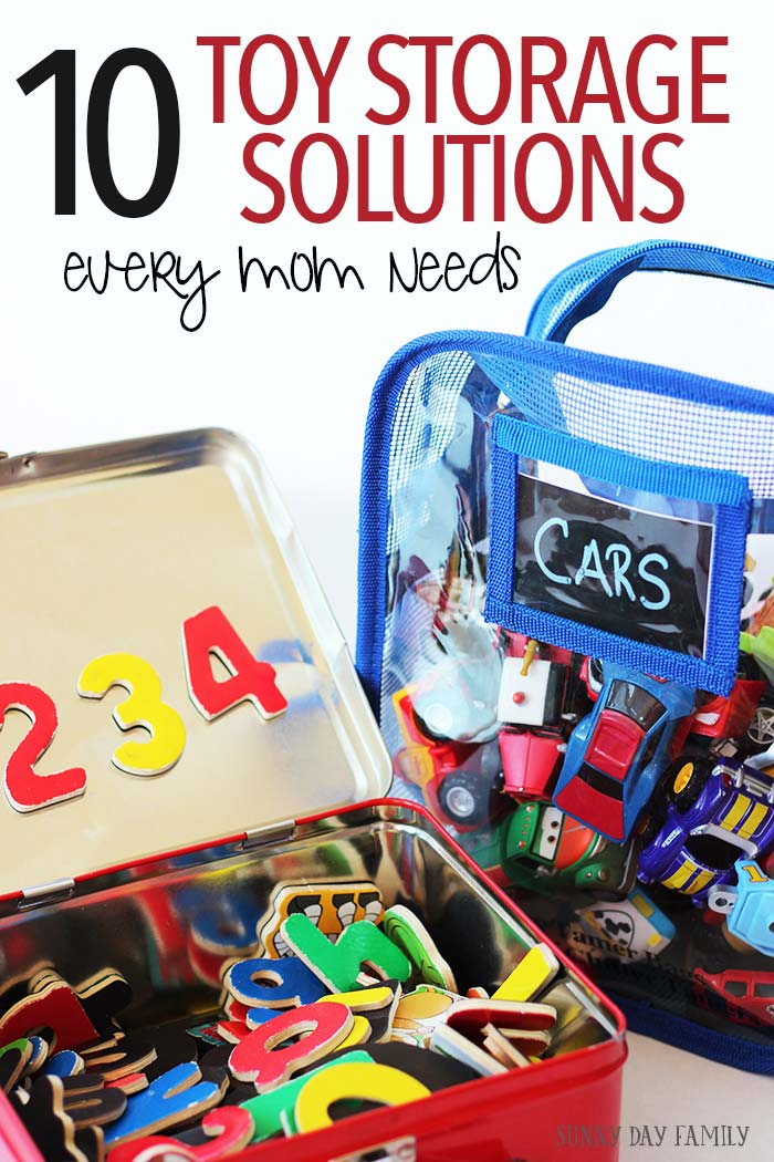 10 Genius Toy Storage Solutions Every Mom Needs Sunny Day Family