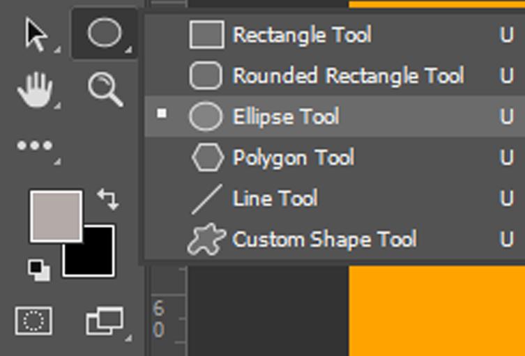 Eclipse tool untuk buat layer berupa lingkaran
