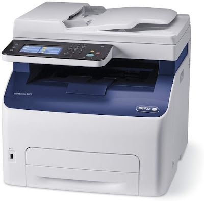 Connect without the demand for network cabling amongst measure built Xerox Work Centre 6027 Driver Downloads