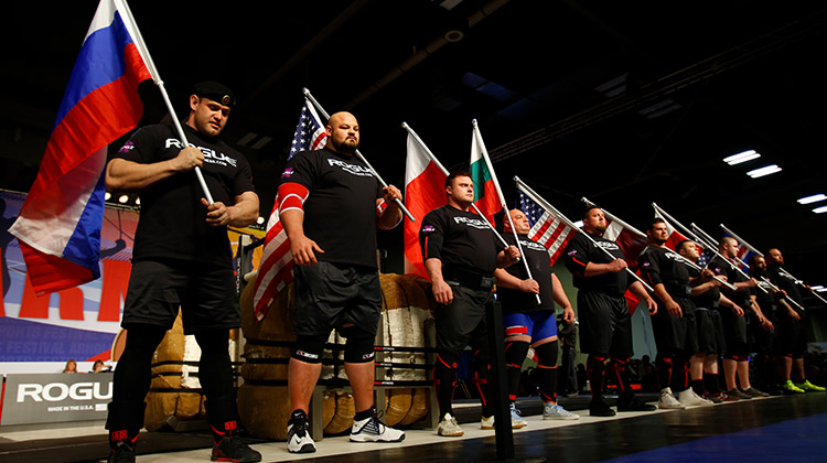 strongest man in the world - Arnold Strongman Classic 2017