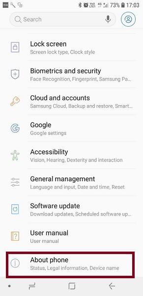 Cara Cek Hp Samsung Asli atau Tidak 2