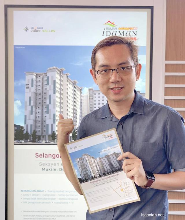 Rumah Selangorku Pangsapuri Idaman Residensi PKNS @ Cyberjaya