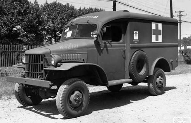 Dodge WC9 truck ambulance 15 May 1941 worldwartwo.filminspector.com