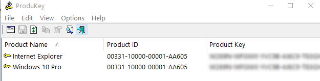 key bản quyền windows