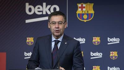 رئيس نادي برشلونة ، بارتوميو ، كوفيد-19، البلوغرانا، حربوشة نيوز
