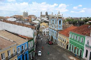 Foto do Pelourinho Salvador Bahia