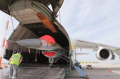 Canada Top Aces receives F16