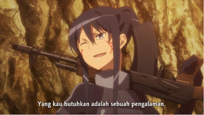 Sword Art Online Alternative - Gun Gale Online Episode 3 Subtitle Indonesia
