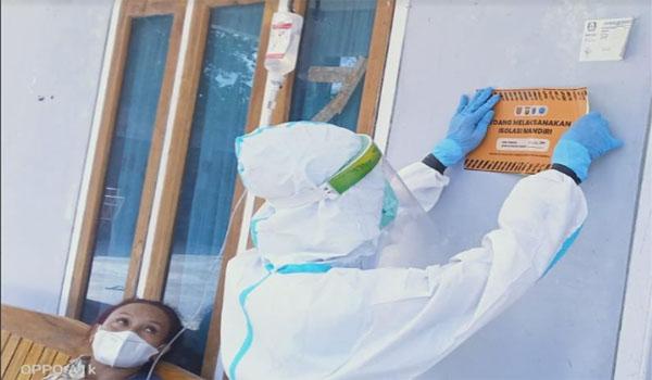 Saat Pandemi Puskemas di OKI Pantau Pasien Isoman via WAG