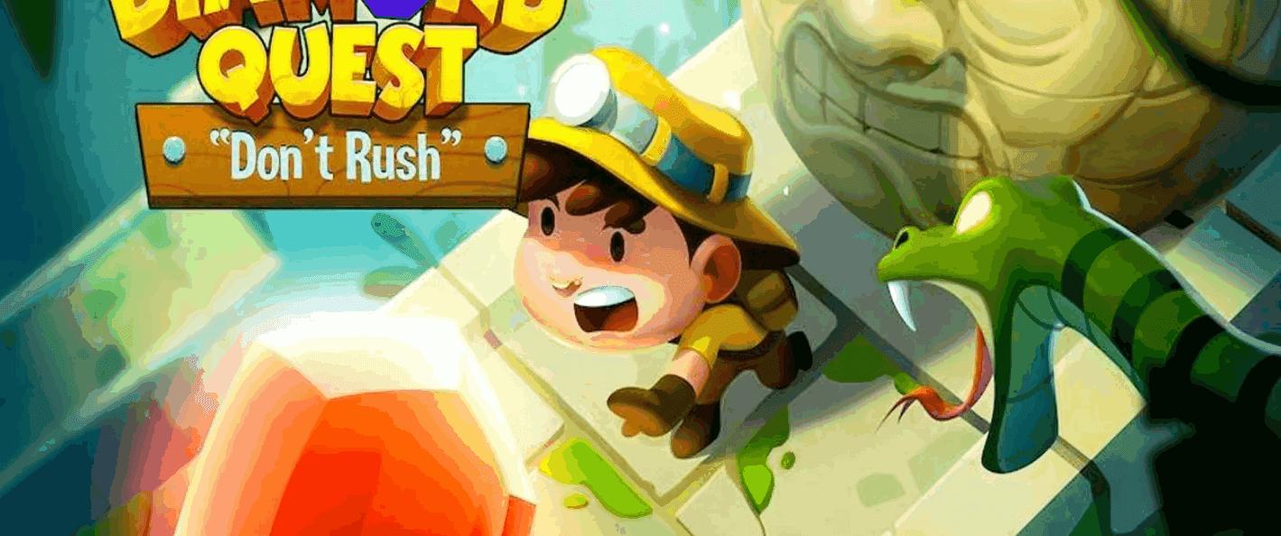 Diamond Quest لا تتعجل هي لعبة لمن يحب المغامرة وعلم الآثار.