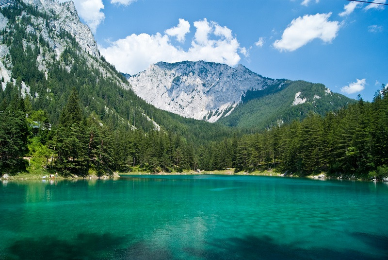 Gruner See, Styria - A Park That Turns Into a Lake in Summer