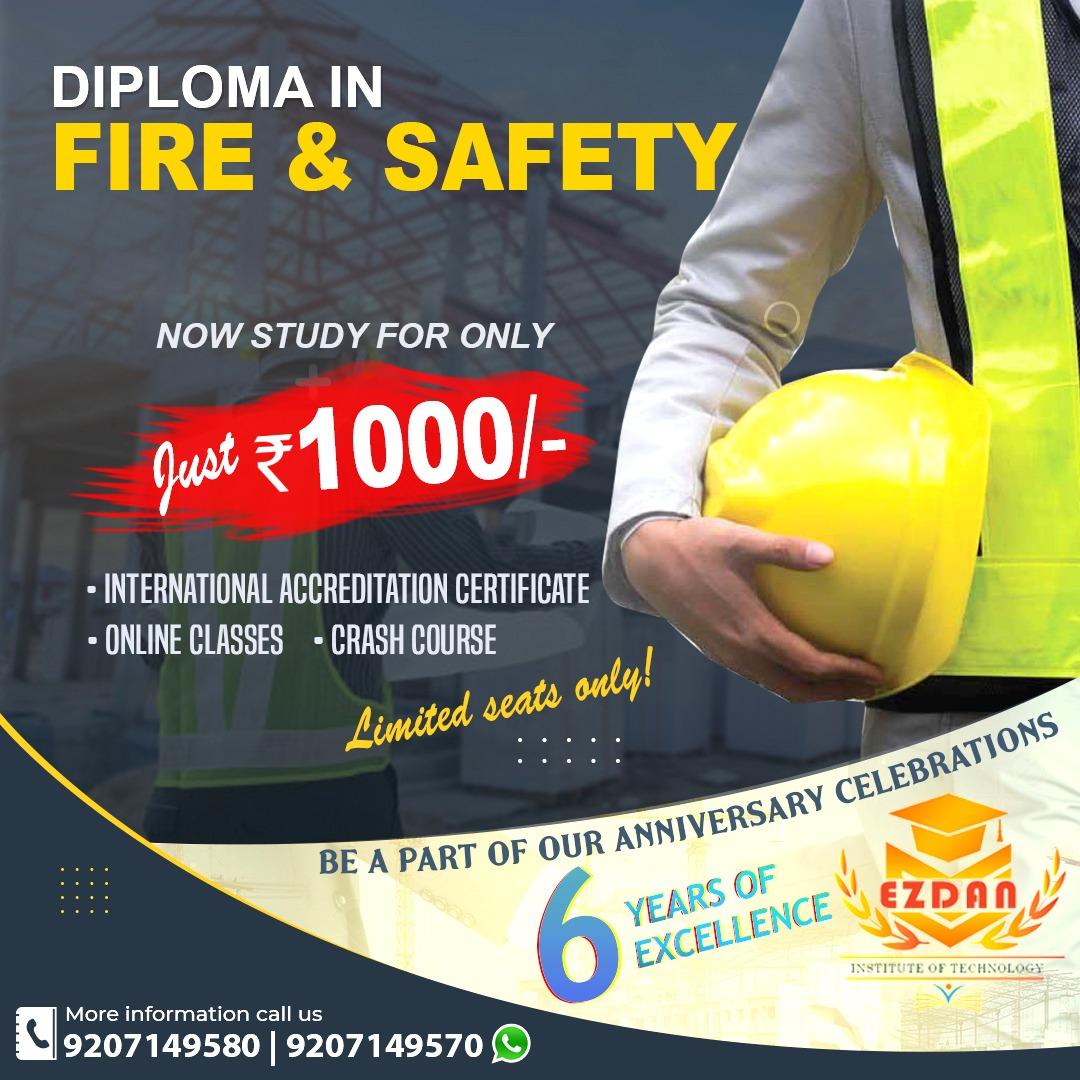 fire and safety training center Kollam, Kerala, NEBOSH course in Kottarakkara, Safety Officer Courses
