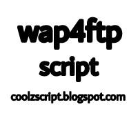 Wap4ftp script
