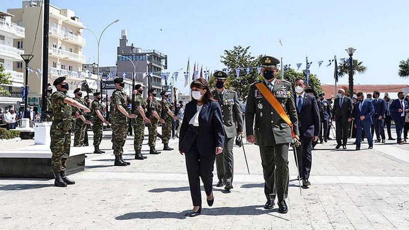 Κ. Σακελλαροπούλου από την Αλεξανδρούπολη: Οι Θρακιώτες ακρίτες φυλάνε με αυταπάρνηση τα ελληνικά και ευρωπαϊκά σύνορα