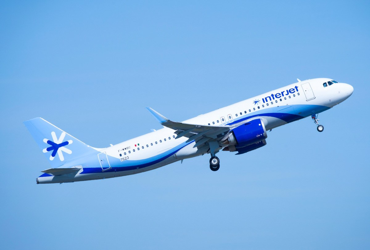 INTERJET ACLARA PLAN TRANSFORMACIÓN RUTAS ABRIL 01