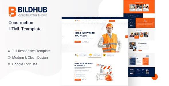 Best Construction HTML Template