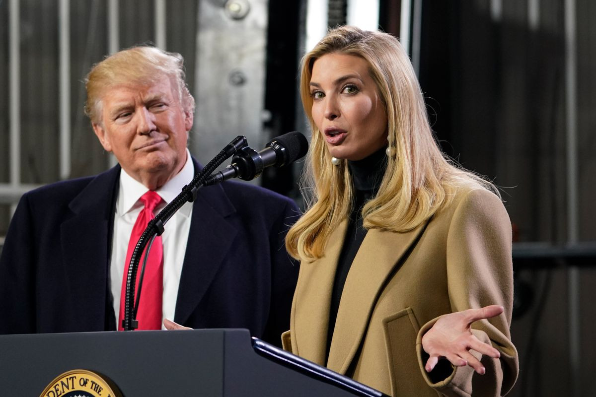Trump daughter's PA tests positive for Coronavirus