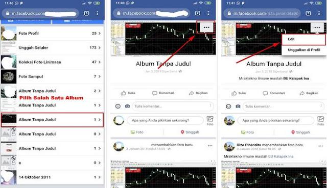 2 Cara Menyembunyikan Foto di Facebook Supaya Teman Tidak ...