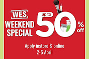 Promo Jsm Watsons Weekend Special (WES) Periode 9 - 12 April 2020