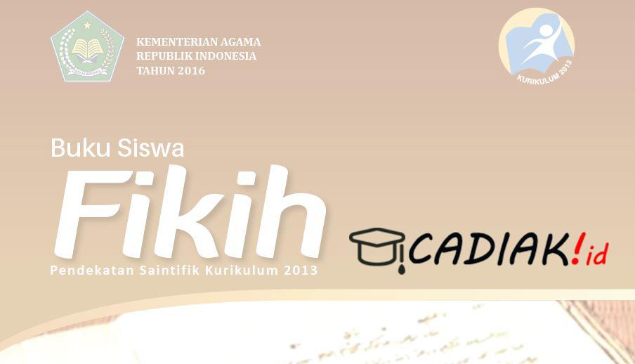 Download Buku Paket Fikih MA Kurikulum 2013 Terbaru
