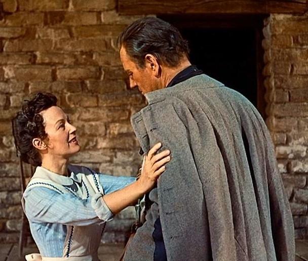 1956. Dorothy Jordan, John Wayne - The searchers