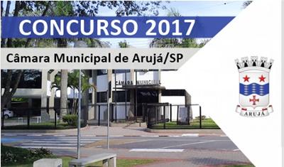 Concurso Câmara de Arujá SP 2017