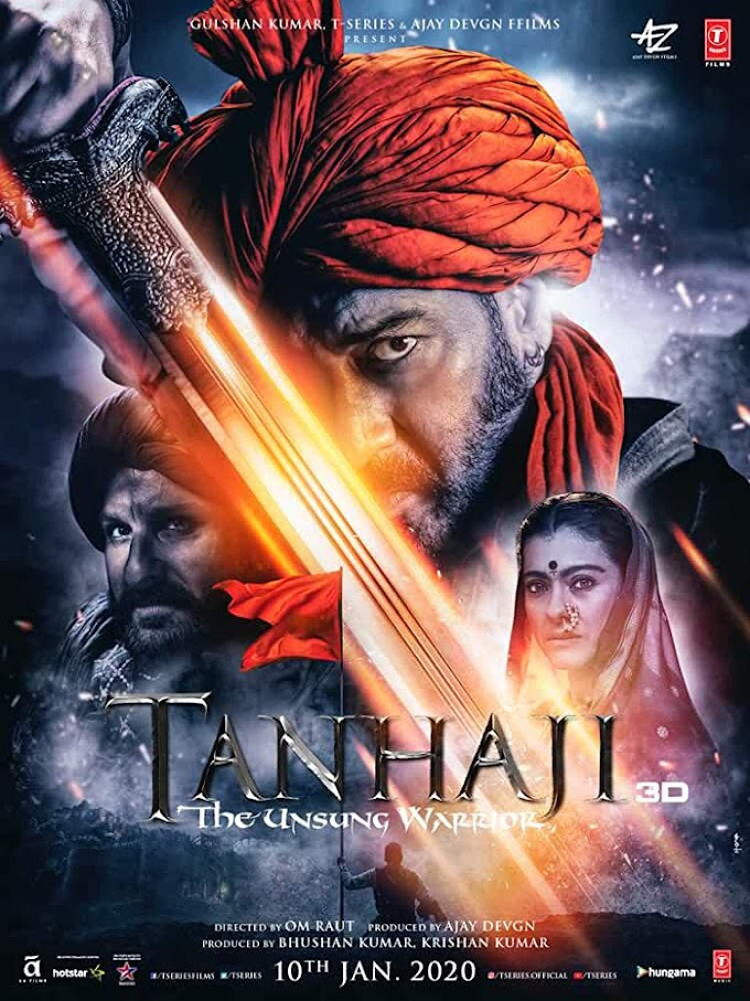Download Tanhaji (2020) Hindi Movie HDRip 480p [500MB] || 720p [1GB] || 1080p [1.7GB]