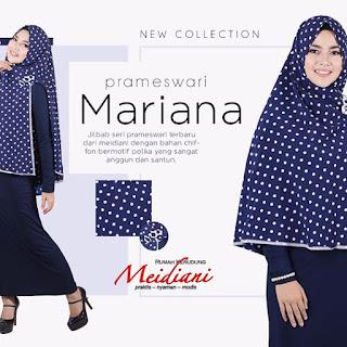Jilbab Panjang Prameswari Mariana