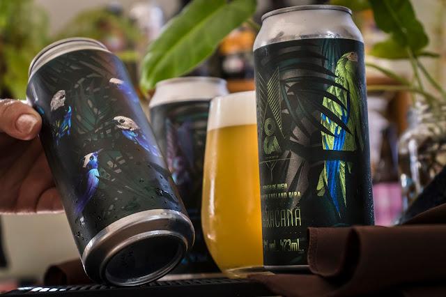 Cervejas Maracanã e Tangará - New England DIPA