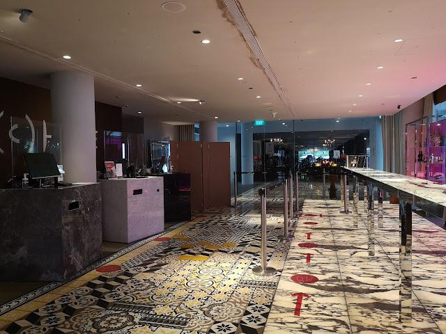 M Social Hotel Lobby