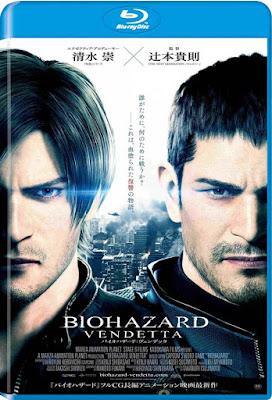 Resident Evil: Vendetta 2017 BD25 Latino