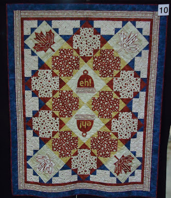 Quilt #10 of the Quilts of Valour Challenge