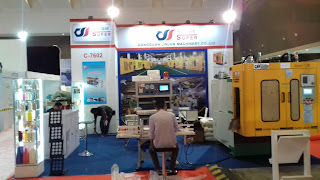 Booth Super at Plastic and Rubber Expo Kontraktor Pameran