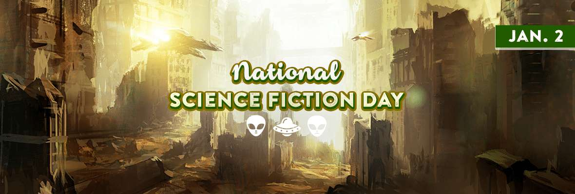 National Science Fiction Day Wishes Unique Image