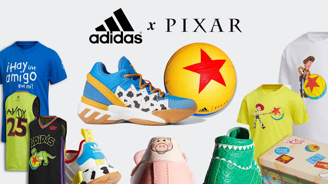 Adidas Pixar Toy Story Friendship Collection Montage