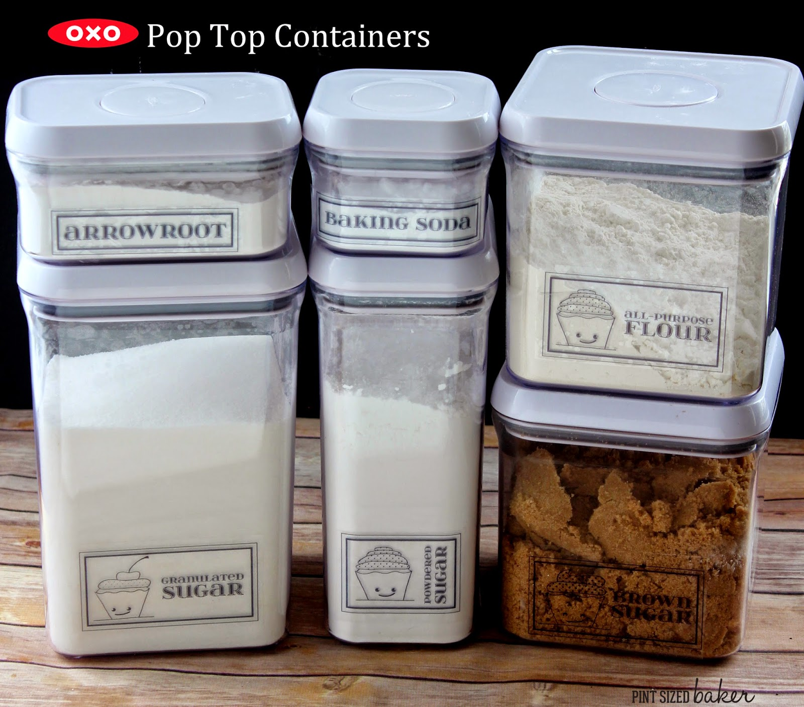 Get the OXO Pop Containers from The Container Store.