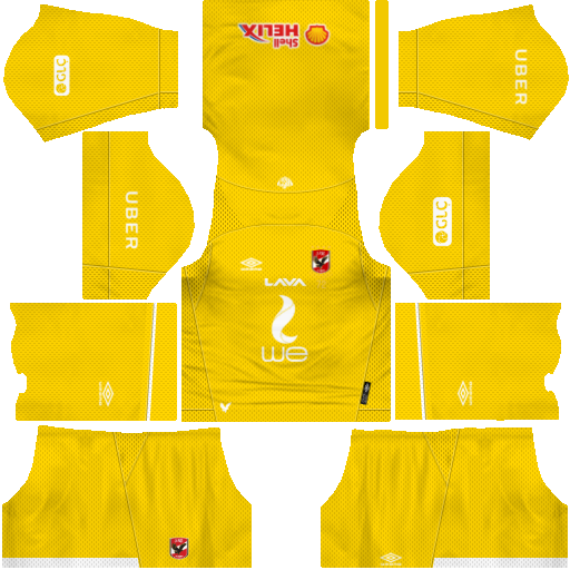 Al Ahly Sc Kits 2019-2020 Umbro For kits dream league soccer