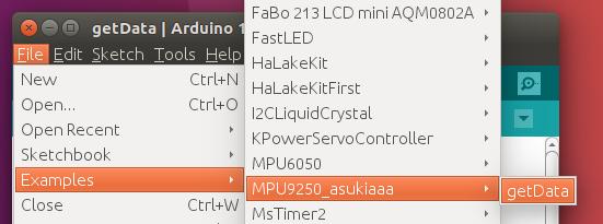 ArduinoでMPU9250(加速度センサ、磁気センサ)を使う方法 : 試行錯誤な日々