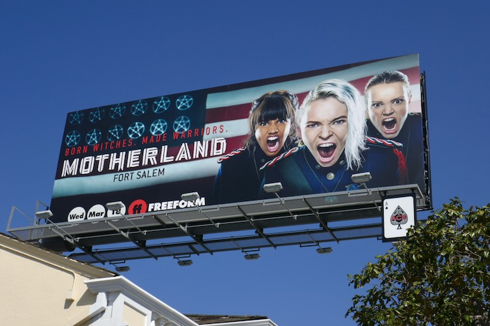 Motherland Fort Salem season 1 billboard