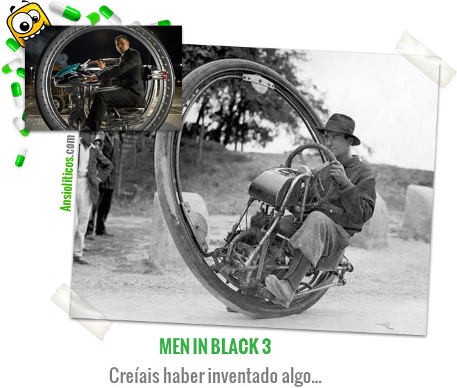 Chistes de Cine Moto de Men in Black 3
