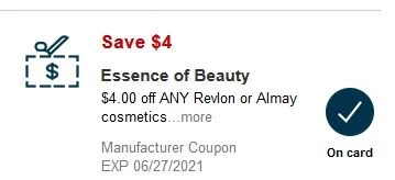 $4.00 off any one essence item CVS crt or APP store Coupon (ALL CVS Couponers)